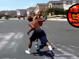 Dad Stops Fight