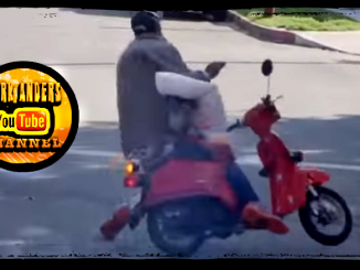 Moped Thief Prank