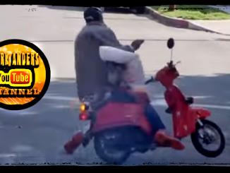 Moped Thief Prank