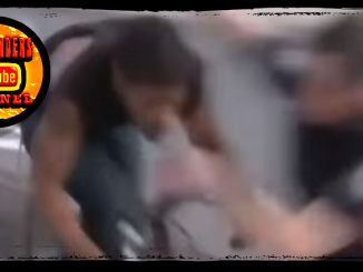 Police Tackle Bike Thief