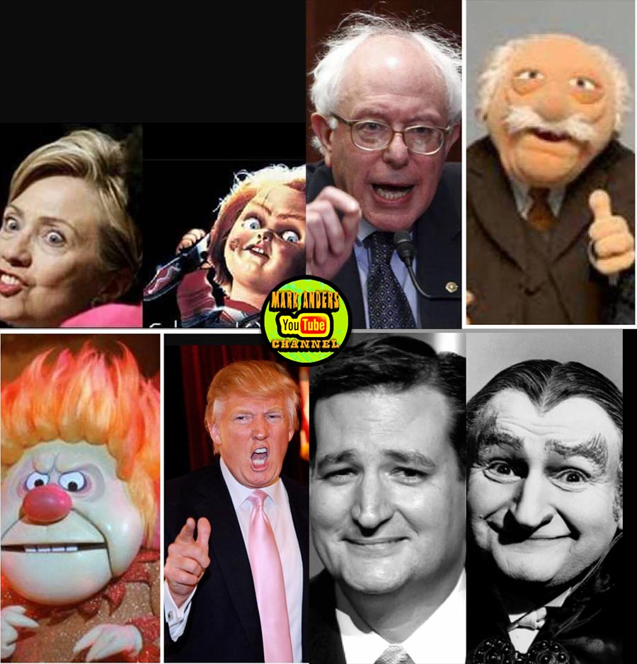 Political Candidate Lookalikes