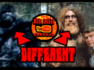 Mark Anders Texas Bigfoot vs Six Million Dollar Man Bigfoot