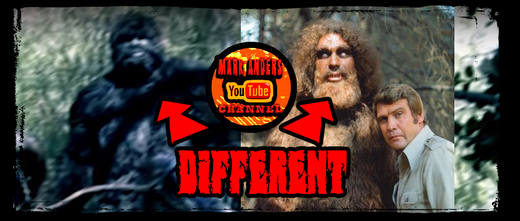 Mark Anders Texas Bigfoot Vs Six Million Dollar Man Bigfoot