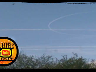 Mystery Aircraft Vapor Trails