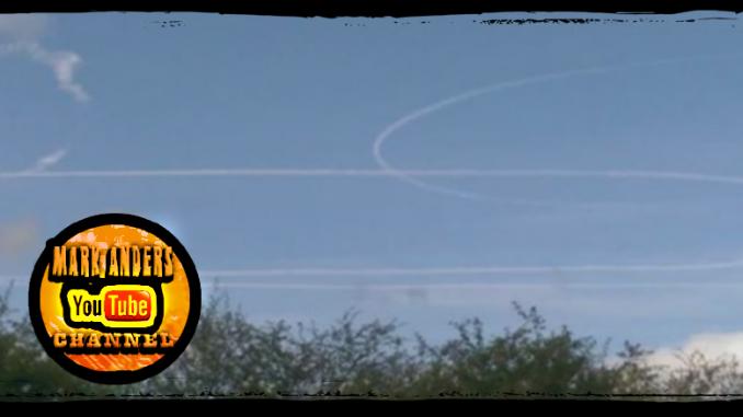 Mystery Aircraft Vapor Trails